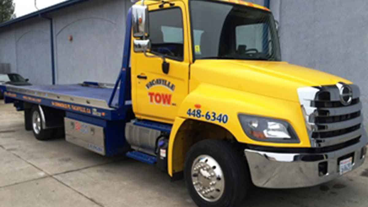 Local Vacaville Towing Service